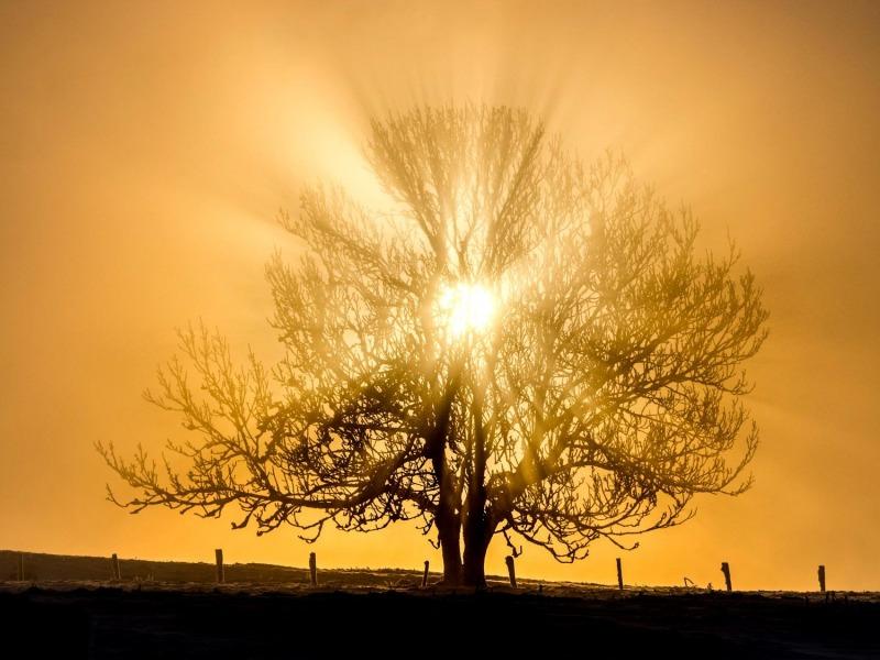Levé de soleil au Mont Salève
