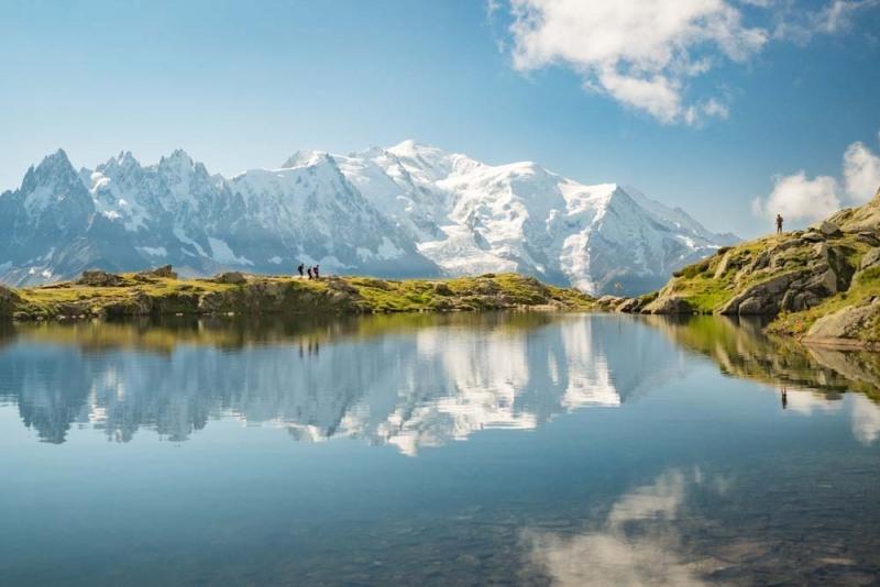 Entre Lac et Mont Blanc