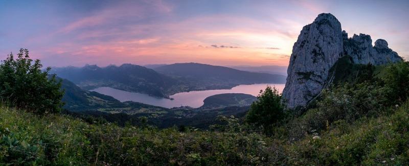 Lac d'Annecy (Haute Savoie)